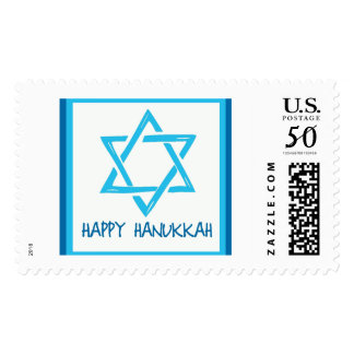 Happy Hanukkah Postage