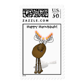 Happy Hanukkah! Postage