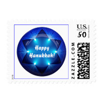 Happy Hanukkah! Postage Stamps