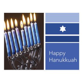 Happy Hanukkah Postcard