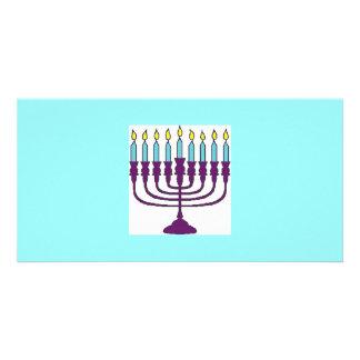 Happy Hanukkah Shalom Card