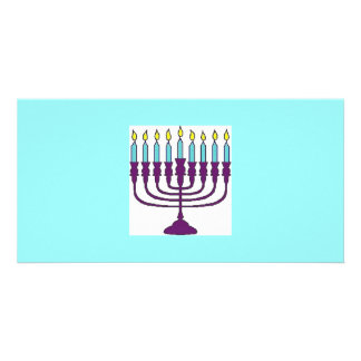 Happy Hanukkah Shalom Photo Cards
