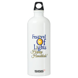 Happy Hanukkah SIGG Traveler 1.0L Water Bottle