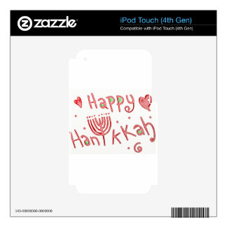 Happy Hanukkah! Skin For iPod Touch 4G