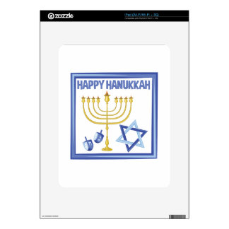 Happy Hanukkah Skin For The iPad
