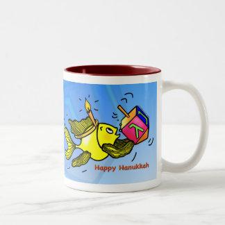 Happy Hanukkah - Sparky comic fish Mug