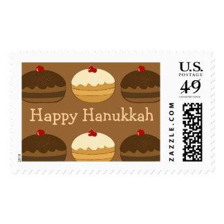 Happy Hanukkah Stamp