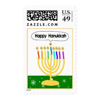 Happy Hanukkah Stamps
