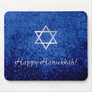 Happy Hanukkah Star of David Mouse Pad