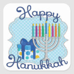"Happy Hanukkah Stickers<br><div class=""desc"">Hanukkah stickers are great for parties and gifts!</div>"