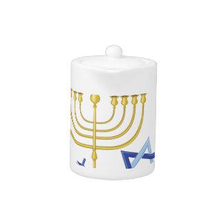 Happy Hanukkah Teapot