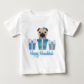 Happy Hanukkah Text.png Baby T-Shirt