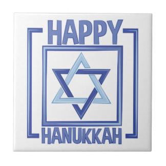 Happy Hanukkah Tile