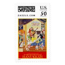 HAPPY HANUKKAH. USA postage