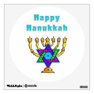 Happy Hanukkah Wall Sticker