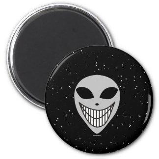 Happy Happy Alien race science fiction smiley face Magnets