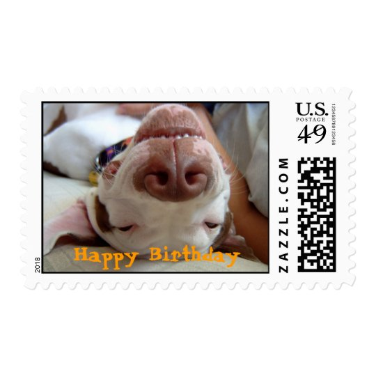 Happy Happy Birthday Stamps