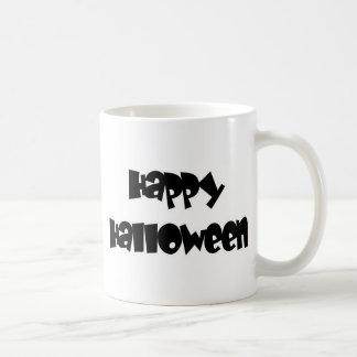 Happy Happy Halloween Classic White Coffee Mug