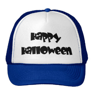 Happy Happy Halloween Trucker Hat