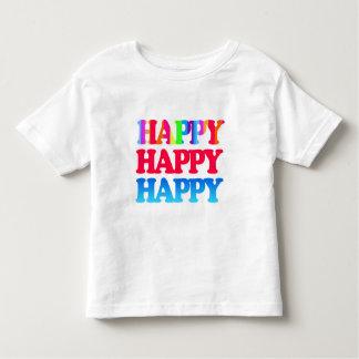 HAPPY. HAPPY. HAPPY TODDLER T-SHIRT