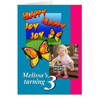 Happy Happy Joy Joy Birthday Invitation