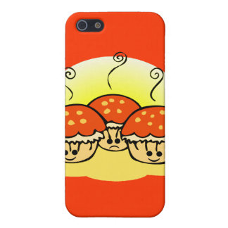 Happy Happy Sad Muffins Cover For iPhone SE/5/5s