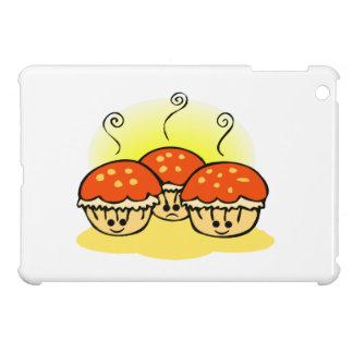 Happy Happy Sad Muffins iPad Mini Cover