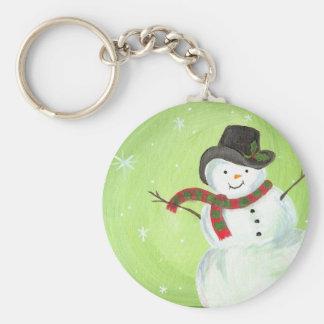Happy, Happy Snowman Key Chain