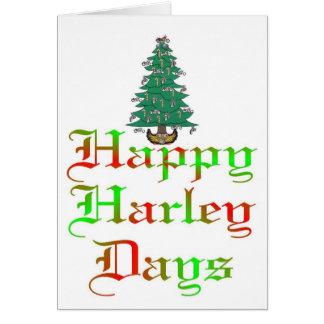 happy harley days greeting card