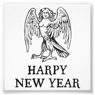 Happy Harpy New Year Photo Print