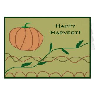 Happy Harvest! Card