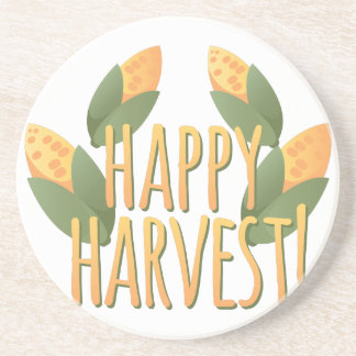 Happy Harvest Drink Coaster