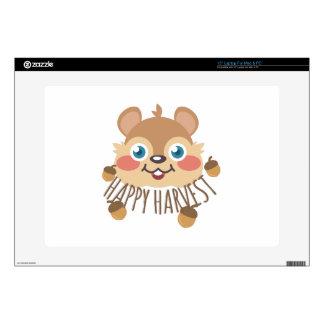 Happy Harvest Laptop Skins