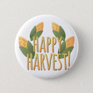 Happy Harvest Pinback Button