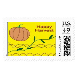 Happy Harvest Stamp