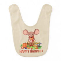 HAPPY HARVEST TEA TIME CELEBRATION Infant Baby Bib