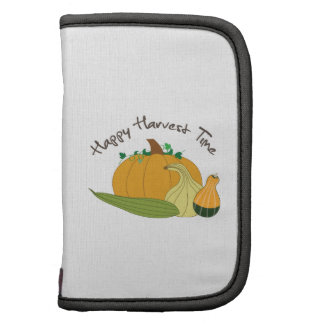 Happy Harvest Time Folio Planner