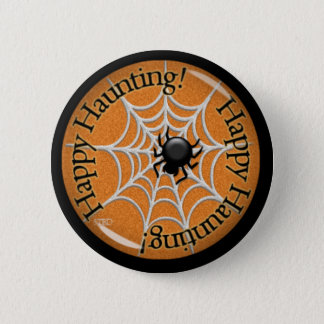 Happy Haunting! Button