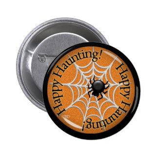 Happy Haunting! 2 Inch Round Button