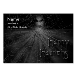 Happy Haunting Calling Card Business Card