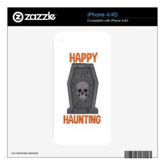Happy Haunting iPhone 4S Skins