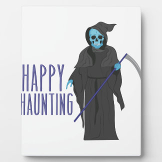 Happy Haunting Plaque