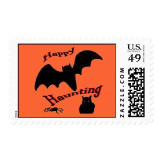 Happy Haunting Postage