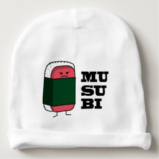 Happy Hawaiian Musubi Spam Sushi Baby Beanie