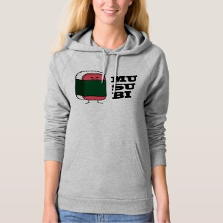 Happy Hawaiian Musubi Spam Sushi Nori seaweed Hoodie