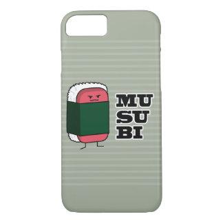 Happy Hawaiian Musubi Spam Sushi Nori seaweed iPhone 8/7 Case