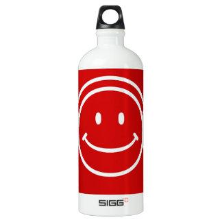Happy Head Phones Collection Aluminum Water Bottle