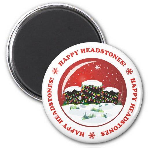 Happy Headstones! Fridge Magnets