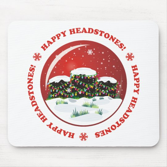 Happy Headstones! Mouse Pad
