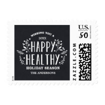 Happy Healthy Holiday | Holiday Postage